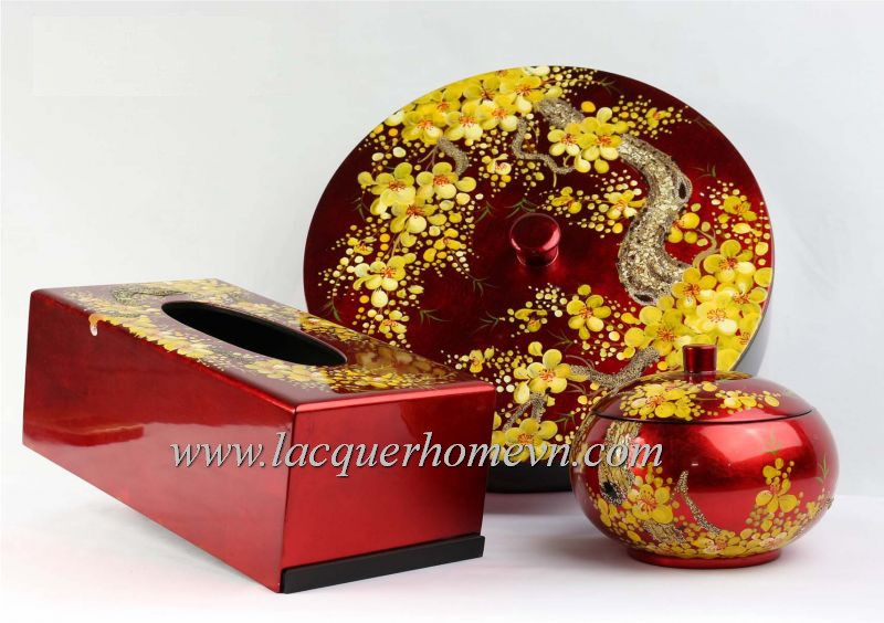 Lacquer gift boxes
